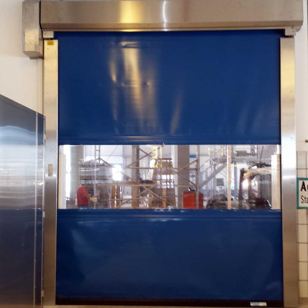 Schnelllauftor-S-2010-SEL-Schrägabdeckung-Edelstahl-Ausführung-klein